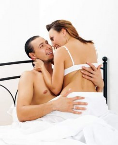 Happy couple who have cured delayed ejaculation