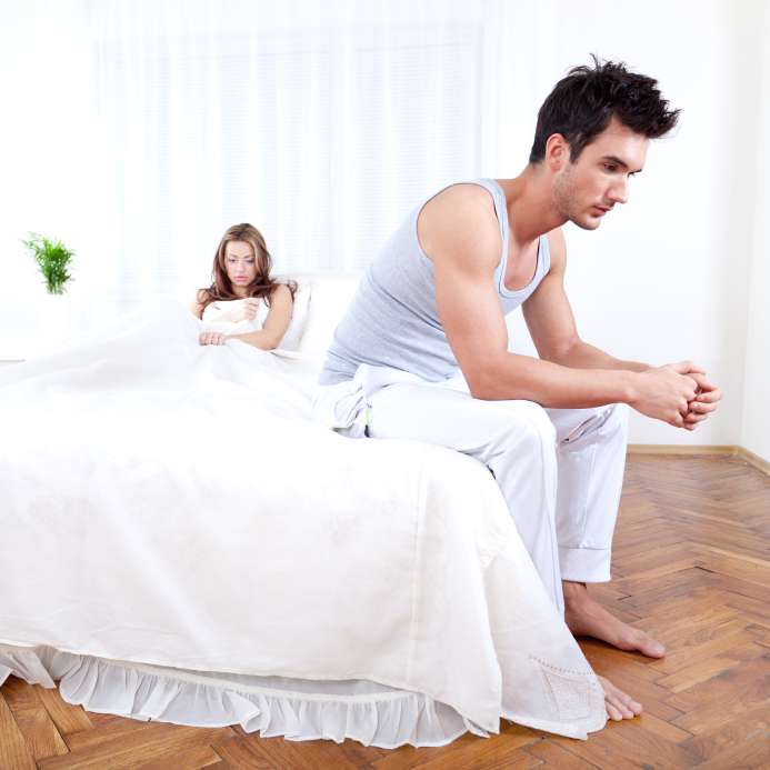 couple with delayed ejaculation